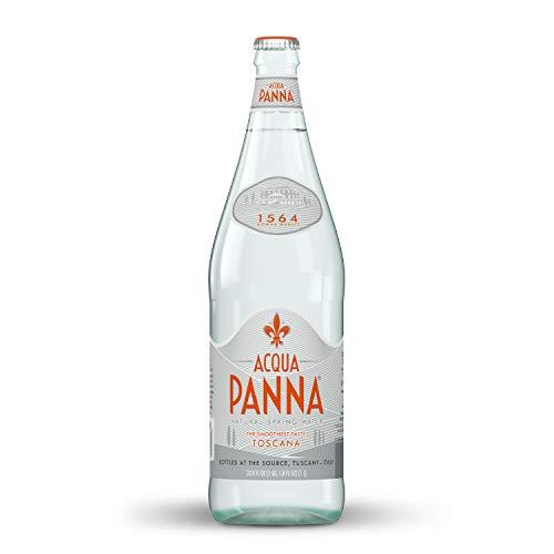 Acqua Panna Natural Spring Water, 33.8 Fl. Oz. Glass Bottle
