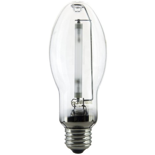 Sunlite 03620-SU LU150/MED High Pressure Sodium Light Bulb, 150 Watts, ED17/MED, Medium Base (E26), ANSI Code S55, 15000 Lumen, 20000 Life Hours, Clear, 2100K