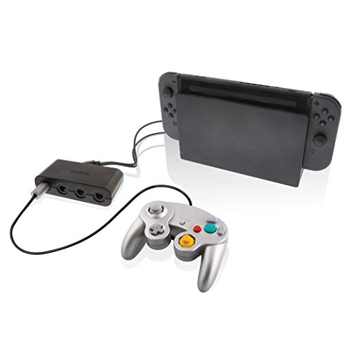 Nyko Retro Controller Hub - 4 Port GameCube Controller Adapter for Nintendo Switch
