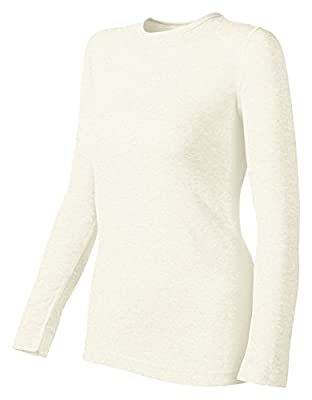 Duofold by Champion Originals Mid-Weight Women's Thermal Shirt_Winter White_S