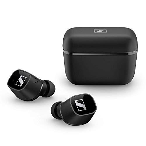 Sennheiser CX 400BT True Wireless Earbuds - Bluetooth In-Ear Kopfhörer zum Musik hören und Telefonieren - Noise Cancellation und anpassbare Touch-Control, schwarz