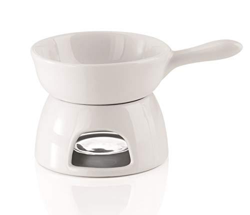 Porzellan Butterwärmer mit Stövchen - Mini Fondue 150ml