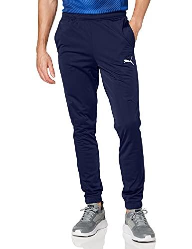 PUMA Herren, LIGA Training Pant Core Hose, Peacoat-White, XL