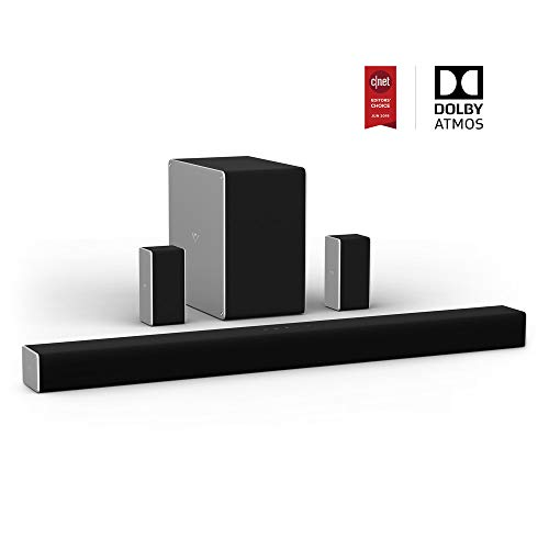 VIZIO 36-inch 5.1.2 Home Theater Sound System with Dolby Atmos (SB36512-F6)