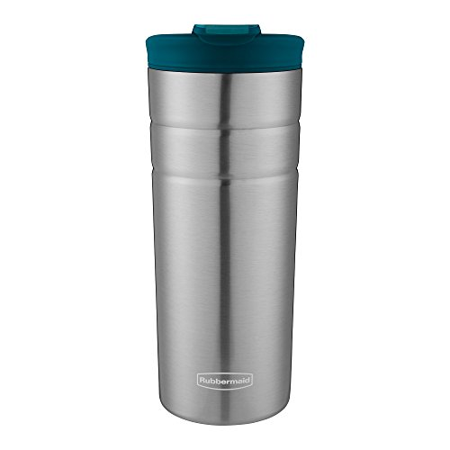 Rubbermaid Leak Proof Flip Lid Thermal Bottle 16 oz Lagoon
