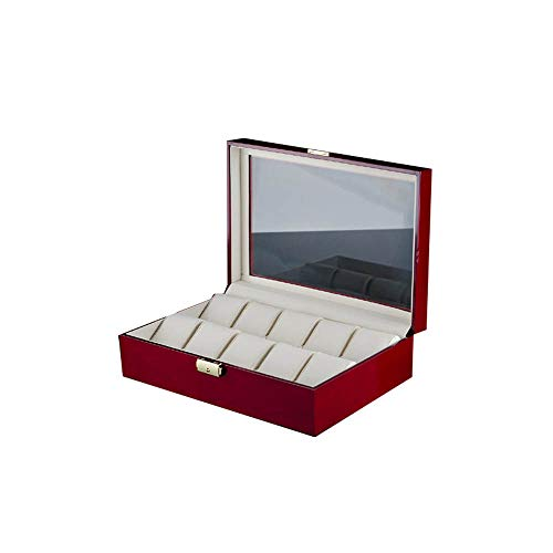 watch box Pintura de Piano Caja de Reloj Caja de Almacenamie