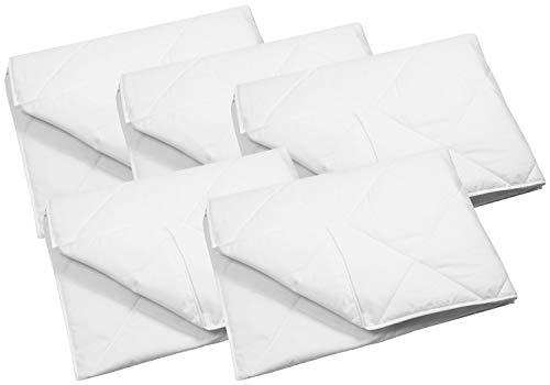ZOLLNER 5er Set Sommer Bettdecke, 135x200 cm, geeignet für Allergiker, Füllgewicht 270 g