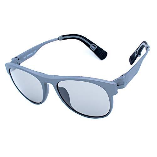zero rh+ RH850S25 Gafas, GRIS, 54/18/140 Unisex Adulto