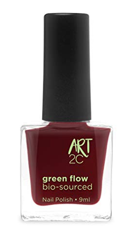 Art 2C 85 % Bio-sourced Vegan Ultra-Pure Patented Nail Polish - veganer, ultra-reiner Nagellack, zu 85 % auf biologischer Basis, 24 Farben, 9 ml, Farbe: Currant 06