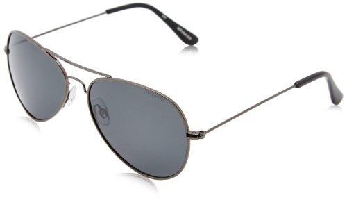 Polaroid 04213 Y2 A4X 58 Gafas de sol, Gris (Gun/Grey Pz), Hombre
