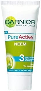 Garnier Pure Active Neem Face Wash (100g) (pack of 2)