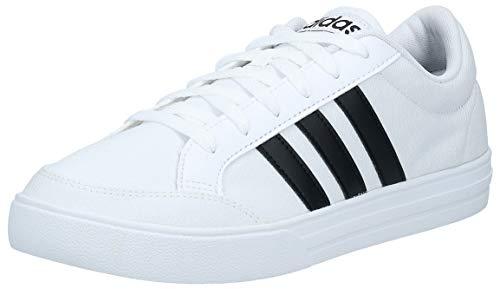 adidas Vs Set, Zapatillas de Deporte Hombre, Blanco (Cloud White/Core Black), 43 1/3 EU