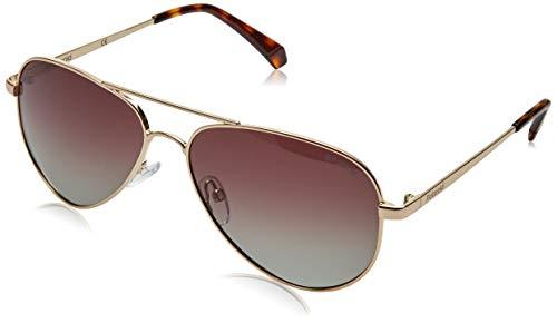 Polaroid PLD 6012/N/NEW gafas de sol, ORO, 56 para Mujer
