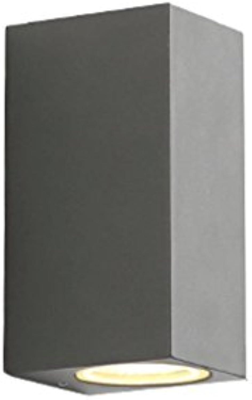 QZz Auen-COB-Quadratwandlicht Gang beleuchtet Balkon-Wandleuchte Auenwandleuchten (gre   150mm)
