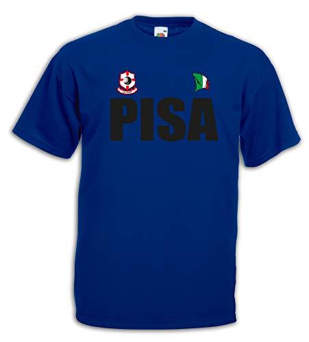 Settantallora - T-Shirt Maglietta J2850 Citta d'Italia Pisa Toscana Taglia M