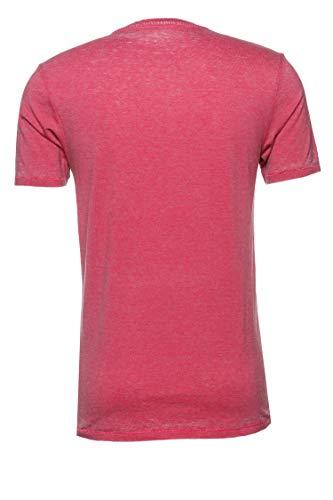 Drykorn Herren T-Shirt Carlo Pink XXL