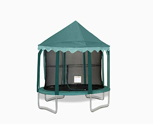 10ft green canopy only - (trampoline not included)