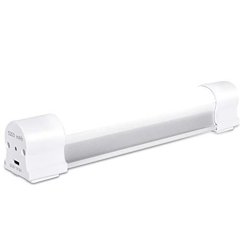 LETOUR LED Camping Licht, 60W 4000Lumens Magnetisch Camping Laterne 5 dimmbare Ebenen USB wiederaufladbare Akkulampen Aufladbar Outdoor mit 5200mAh Power Bank Ausdauer für 60 Stunden