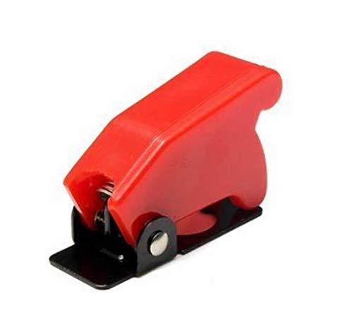 YONGYAO Interrupteur À Bascule Imperméable À l'eau De Sécurité en Plastique Flip Cover Cap Multi-Couleur-Rouge