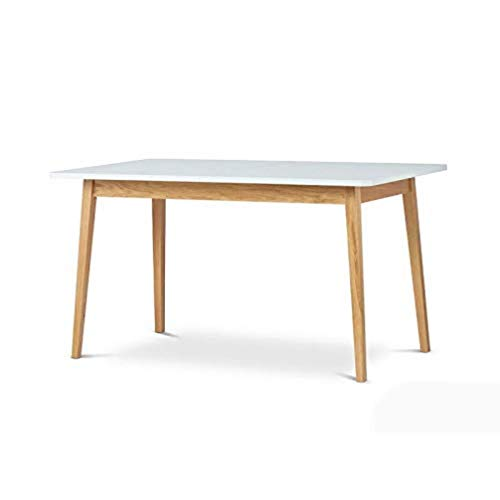 Veneer - Tavolo da pranzo allungabile rettangolare in legno di faggio e bianco
