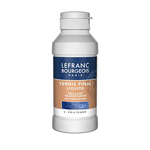 Lefranc Bourgeois Vernice Finale Liquido Lucido 250 ml
