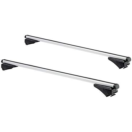 Twinny Load K02842599 Juego Techo de Aluminio A99 para diverso Modelos con Barras longitudinales Cerrados o pequeños Abiertos