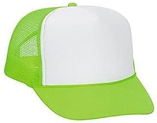 neon mesh hats