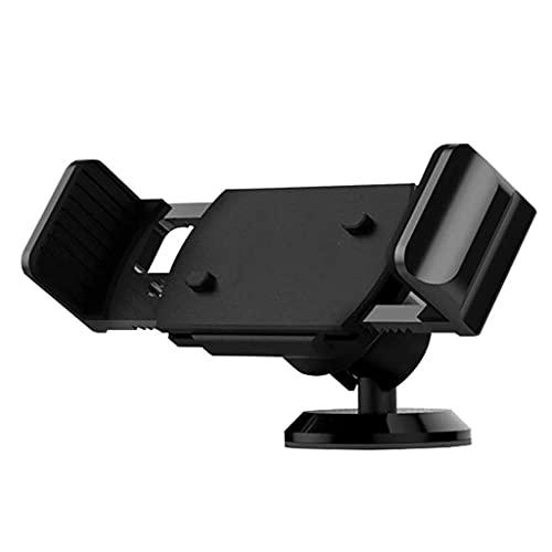 FKSDHDG Titular del teléfono del Coche Universal, el Monte del teléfono Celular for el Coche del Tablero de Instrumentos con una Fuerte Ventosa (Color : Black)