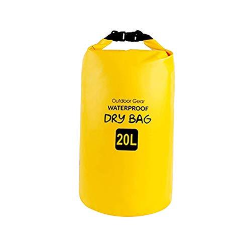 freneci Dry Bag Backpacking Waterproof Sack Boating Storage Backpack Compression Bag - 20L