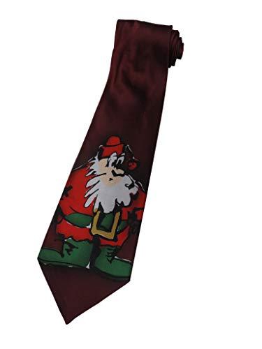 Men's J. Jerry Garcia Necktie Neck Tie Collection Thirty-five Merry Christmas
