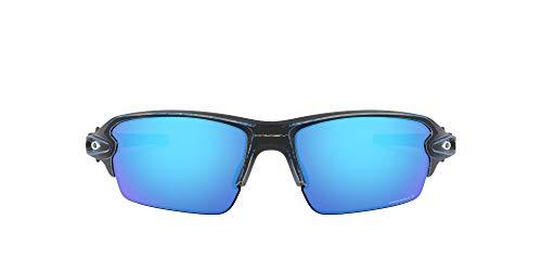 Oakley Men's Flak 2.0 Asian Fit Sunglasses,OS,Raceworn Blue/Prizm Sapphire Polarized