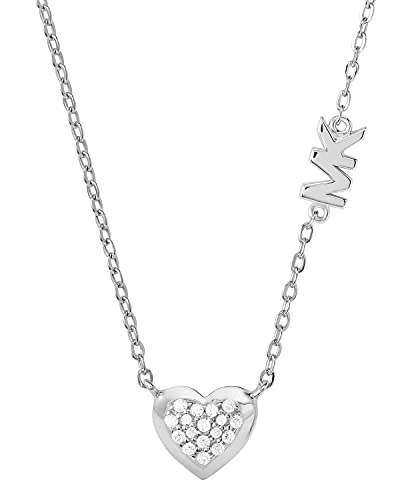 Collar mujer Michael Kors corazón plata MKC1459AN040