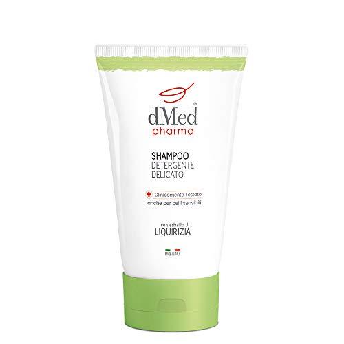 dMed pharma Shampoo Detergente Delicato - Ideale Per Lavaggi Frequenti - Formato Da Viaggio 100 Ml