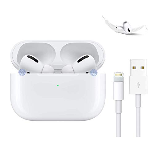 Wireless earbuds bluetooth headphones with charging case ipx5 waterproof sports headphones with built-in mic, touch control bluetooth earbuds suitable for airpods pro/iphone/android/samsung