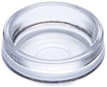 Merriway BH00018 Castor Cups, Outer Dimension 68 mm (2.5/8 inch) - Large, Clear, Pack of 8