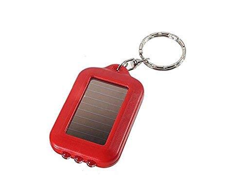 U/K PULABO Lampe de poche solaire porte-clés Creative pour sac portable et utile