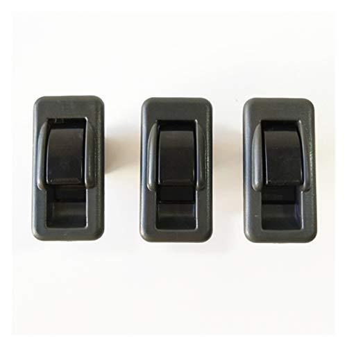 Wshao Store - Interruptor de control para elevalunas delantero trasero izquierdo y derecho para MITSUBISHI PAJERO MR753373 MR731813 (color: 3 piezas interruptor individual)