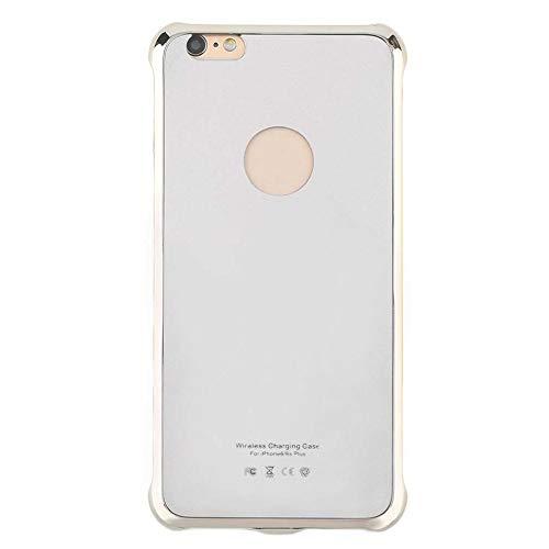 Práctico color sólido inalámbrico funda de carga para teléfono móvil funda protectora para teléfono funda de carga adecuada para Iphone