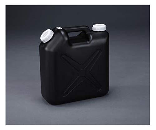 エスコ 10L ポリタンク(黒) (ポリエチレン製/ノズル無) EA508AT-310