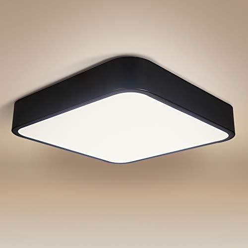 Plafoniera LED 24W, bedee 2040LM Lampada da soffitto LED, 16LEDs Bianco Naturale 4000K per soggiorno Sala da pranzo Camera da letto Bagno Cucina Corridoio [Classe di efficienza energetica A++]
