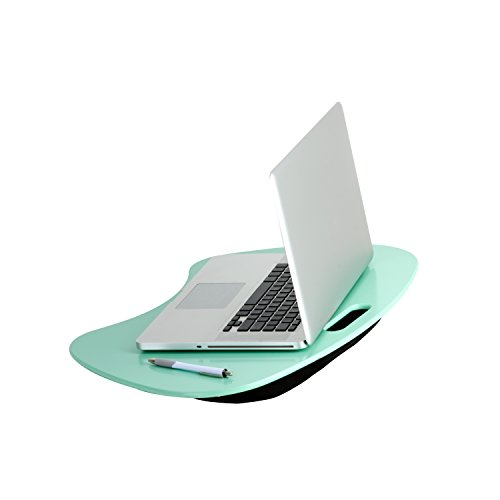 Honey-Can-Do TBL-03540 Portable Laptop Lap Desk with Handle, Mint, 23...