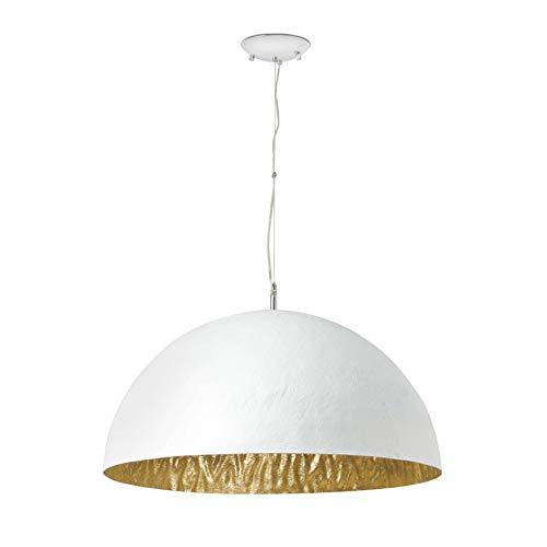 Faro 28399 - Magma-P lámpara colgante (3l), color blanco y oro