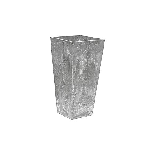 ArtStone 35130 Ella Tall Planter Grey 13.5-inch