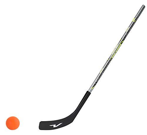 Unbekannt 1 x Vancouver Streethockeyschläger 100 cm, Kids Plus 1 Hockey-Ball (Rechtsschuss (rechte Hand unten))
