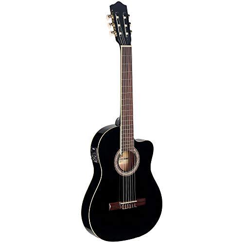 Stagg Elektroakustik Klassik-Gitarre cutaway mit 4-Band EQ