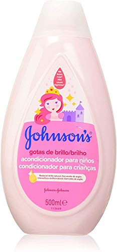 Johnson's Baby Gotas de Brillo - Acondicionador para niños, 500 ml