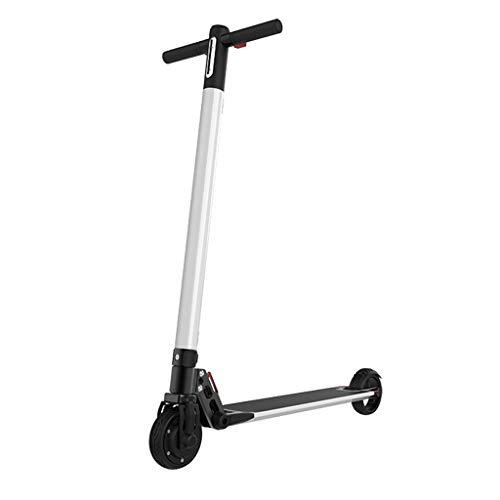 Eariy - Patinete eléctrico plegable, velocidad máxima de 25 km/h, 3 ruedas,...