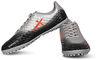 Vector X Furious Football Shoes for Men's (Grey-Black)