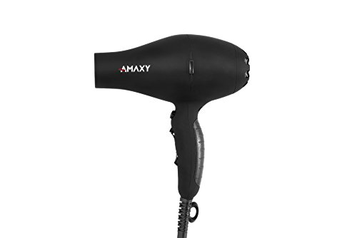 Amaxy 1st Gen Salon Grade Real Infrared Light Professional Hair Dryer With Honeycomb Ceramic - Prevent Hair Loss - Repair Damaged Hair - Frizz Control - Volumizer Blowdryer with Cool Shot Button