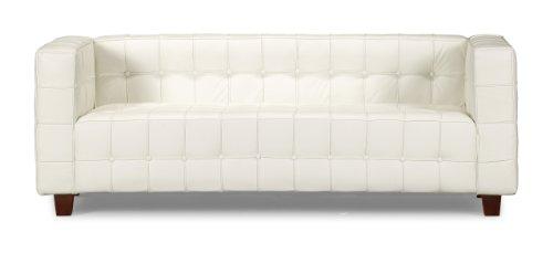 Hot Sale Zuo Button Sofa, White